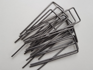 Steel U-Pins 150x50x150 (4mm dia) - 100 ...